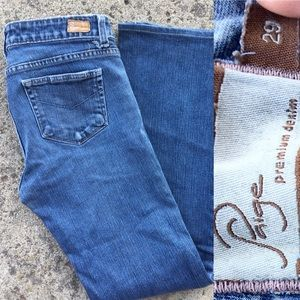 Paige Premium Hollywood Hills Bootcut Jeans 29